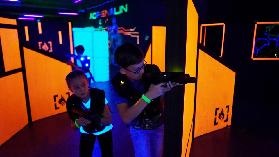 Laser Tag Arena Development