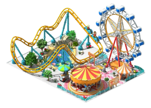 Are you planning on starting an amusement park?
